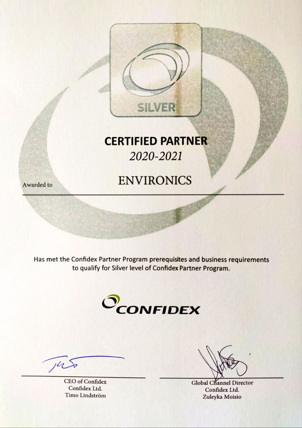 Confidex Akıllı Endüstriler