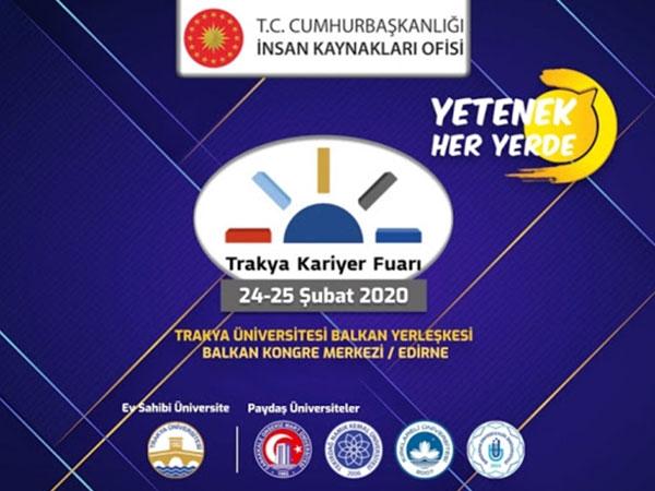 24 Şubat'ta Edirne'de, Trakya Kariyer Fuarındayız...